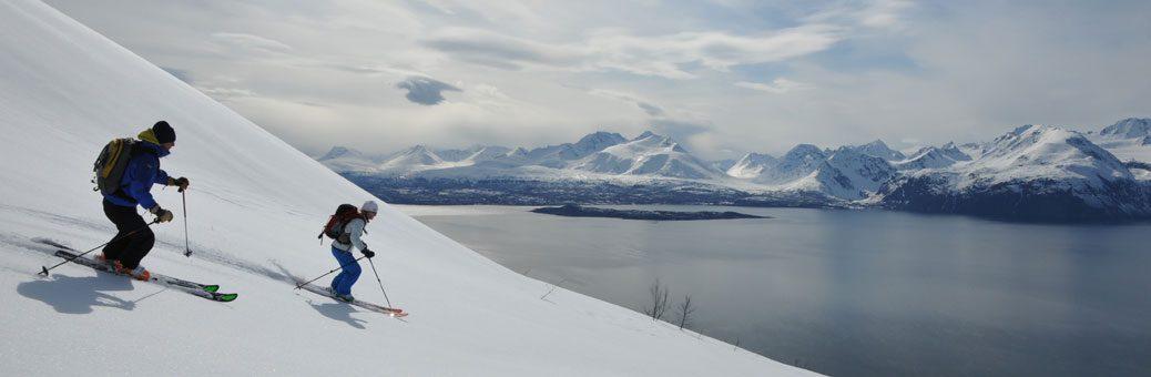 ski touring norway lyngen